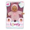 Пупс с мягким телом Lovely в розовой одежде Зайчик Loko Toys - 1