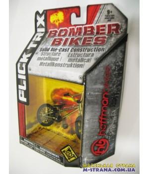 Фингербайк металлический Flick Trix серия Bomber Bikes Hoffman золотистый