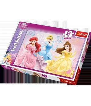 Пазл 24 максі - Принцеси  Дісней