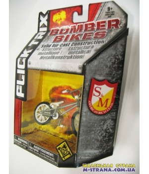 Фингербайк металлический Flick Trix серия Bomber Bikes S&M