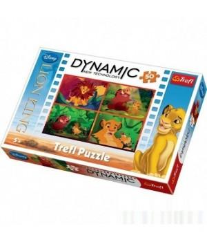 Пазл 50 Dynamic - Король Лев