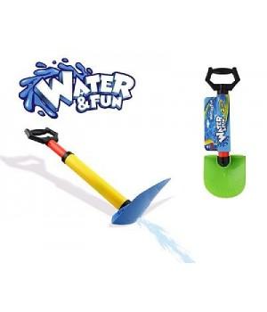 Игрушка 2 в 1 лопата и водяное ружье 50 см