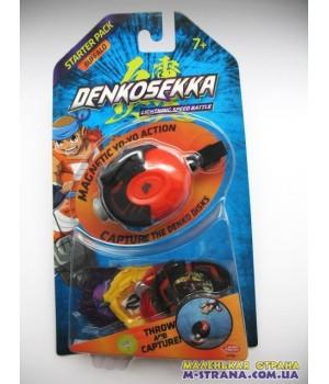 Стартовый набор Denkosekka Buffalo Бык + набор дисков для игры в подарок
