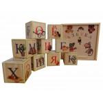 Деревянные кубики с Русским алфавитом. K9ru