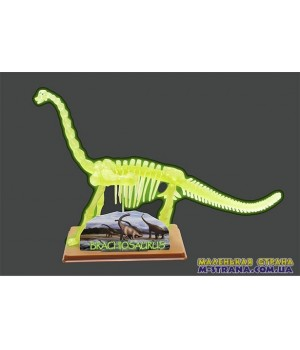 Детский конструктор Скелет Брахиозавра Brachiosaurus skeleton Eastcolight
