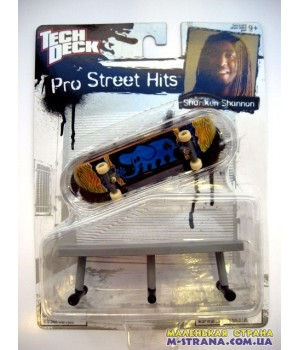 Tech Deck Pro Street Hits Shuriken Shannon
