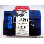 Чемодан для хранения фингербордов Carrying Case Tech Deck - синий красная ручка