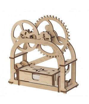 Механические 3Д пазлы модель Механическая шкатулка