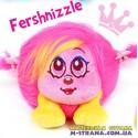 Мягкая игрушка Fershnizzle Shnooks с расческой и аксессуарами - розовый с желтой челкой