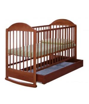 Кровать СИМБА с ящиком ОРЕХ