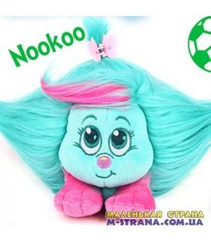 Мягкая игрушка Nookoo Shnooks с расческой и аксессуарами - зеленый с розовой челкой Shnooks - 1