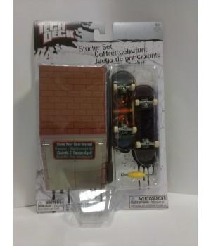 Стартовый набор фингеров оригинал Tech Deck Starter Set с кейс-рампой кирпич с дверями Tech Deck - 1