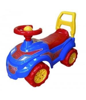 Автомобиль для прогулок толокар Технок Спайдермен 3077
