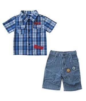 Рубашка для мальчика SB-018-13 (80) Teeny tiny - 1