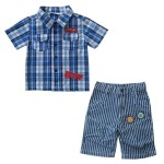 Рубашка для мальчика SB-018-13 (110)
