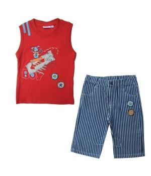 Бриджи для мальчика SB-021-13 (98) Teeny tiny - 1