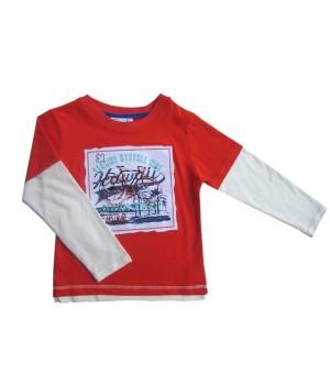 Куртка (кофта) для мальчика SB-032-13G (116) Teeny tiny - 1