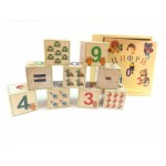 Деревянные кубики с цифрами K9tc
