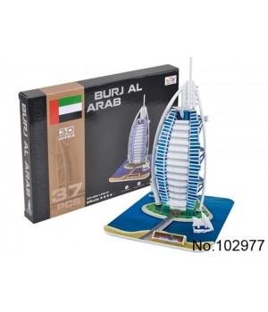 Пазл 3D Бурдж Аль-Араб - 1