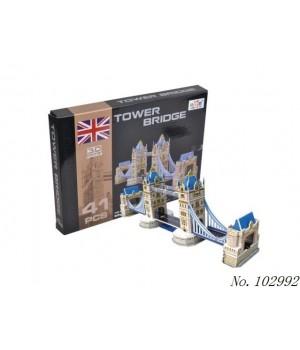 Пазл 3D Мини-близнец Тауэрский мост в Лондоне