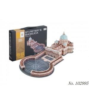 Пазл 3D Собор Святого Петра - 1