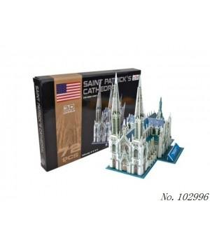 Пазл 3D Собор Святого Патрика - 1