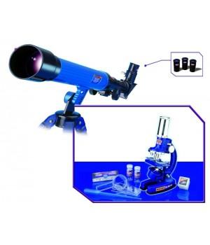 Набор Eastcolight микроскоп 100х, 200х, 450х и телескоп 20х, 30х, 40х 2072-EC