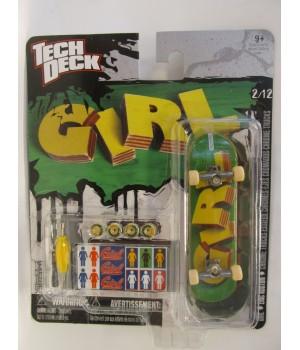 Скейтборд для пальцев рук фингер Tech Deck Girl Eric Koston chrome trucks