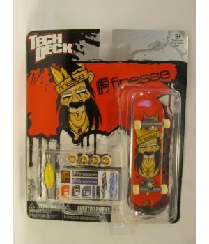 Скейтборд для пальцев рук фингер Tech Deck Finesse красный Tech Deck - 1