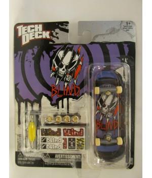 Скейтборд для пальцев рук фингер Tech Deck Blind фиолетовый череп Tech Deck - 1