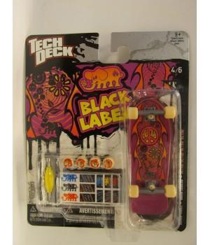 Скейтборд для пальцев рук фингер Tech Deck Black Label John Lucero RETRO