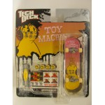 Скейтборд для пальцев рук Toy Mashine розовый с желтым