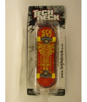 Фингерборд TechDeck Checklane 99821 Creation красный