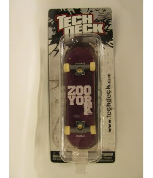Фингерборд TechDeck Checklane 99821 Zoo York фиолетовый