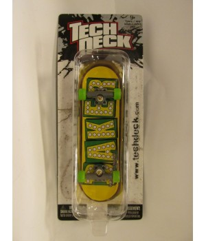 Фингерборд TechDeck Checklane 99821 Baker желтый