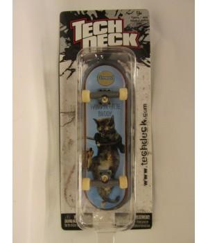 Фингерборд TechDeck Checklane 99821 Almost hang in there buddy кот