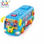 Игрушка музыкальная Танцующий автобус Huile Toys (908)