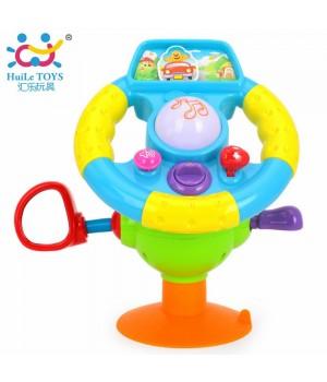 Игрушка музыкальная Забавный руль Huile Toys (916) HUILE TOYS - 1