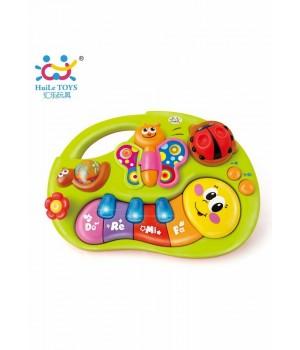 Игрушка Веселое пианино со звуковыми и световыми эффектами Huile Toys (927) HUILE TOYS - 1