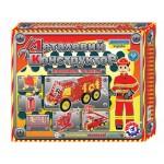 Игрушка Конструктор Пожарная техника Технок (2056)