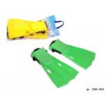 Ласты 55937 Интекс Intex размер M, регул.ремень, длинна 33,5 см., 2 цвета шар, 20-45-7 см.