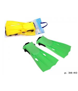 Ласты 55937 Интекс Intex размер M, регул.ремень, длинна 33,5 см., 2 цвета шар, 20-45-7 см. Intex - 1