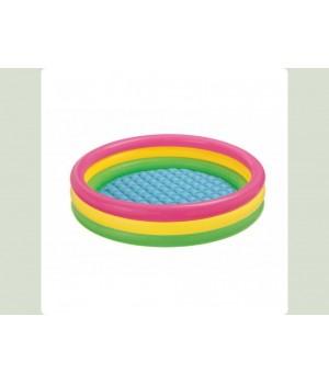 Бассейн Интекс Intex 57422 4 кольца, 147-33 см