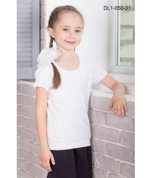 Блуза трикотажная Zemal DL1-050-01 белая р34