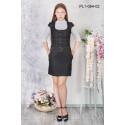 Платье школьное Zemal PL1-064-02 черное р48