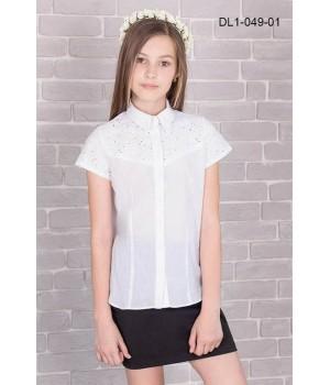 Блуза школьная Zemal DL1-049-01 белая р34 Zemal - 1