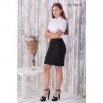 Юбка школьная Zemal PL1-553-02 черная р44