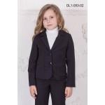 Жакет школьный Zemal DL1-053-02 черный р32