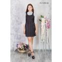 Платье школьное Zemal PL1-050-02 черное р44