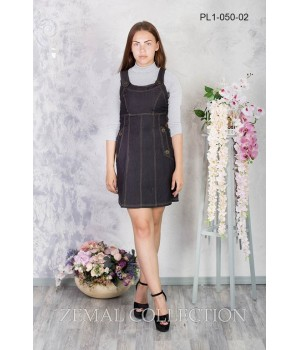 Платье школьное Zemal PL1-050-02 черное р46 Zemal - 1